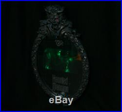 Disney Haunted Mansion Hitchhiking Ghost Mirror Motion Activated Lighted Talking