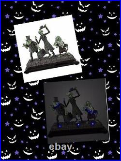 Disney Haunted Mansion Hitchhiking Ghosts Light Up Figure Figurine 50th Anniv