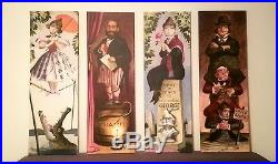 Disney Haunted Mansion Stretch Portraits, Stretched Canvas 12 x 36/ea FULL SET