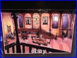 Disney Haunted Mansion Swinging Wake Matte Art Print By Kevin John 14 x 18