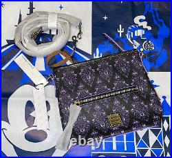 Disney Haunted Mansion Wallpaper Crossbody Bag by Dooney and Bourke