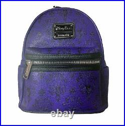 Disney Haunted Mansion Wallpaper Mini Backpack by Loungefly