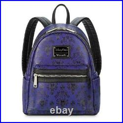 Disney Haunted Mansion Wallpaper Mini Backpack by Loungefly New with Tag