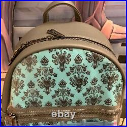 Disney Loungefly Haunted Mansion LE 50th Ann. Dancing Ghosts Ballroom Backpack