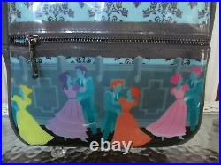 Disney Loungefly Haunted Mansion Mini Backpack Dancing Ghosts NWT