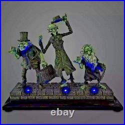 Disney Med/Big Fig/Figure/Figurine HAUNTED MANSION HITCHHIKING GHOSTS Light-Up
