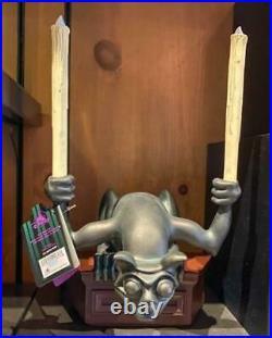 Disney Parks 2021 Haunted Mansion Gargoyle Figurine Statue Lights Up NIB