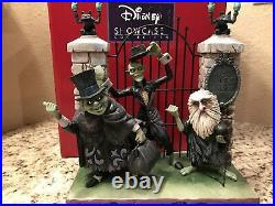 Disney Parks Beware of Hitchhiking Ghosts Jim Shore Statue Figurine New In Hand