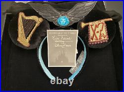 Disney Parks Designer Collection Ears Kim Irvine Haunted Mansion NWT