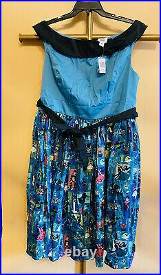 Disney Parks Dress Shop Haunted Mansion Women's Dress XL NEW