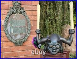 Disney Parks Exclusive Haunted Mansion Gargoyle Light Up Figurine Statue 14 NIB