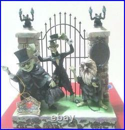 Disney Parks Haunted Mansion 45th Hitchhiking Ghosts Jim Shore Gargoyles Figure