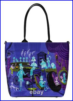 Disney Parks Haunted Mansion 50th Anniversary Harveys SHAG Tote Bag & Coin Purse