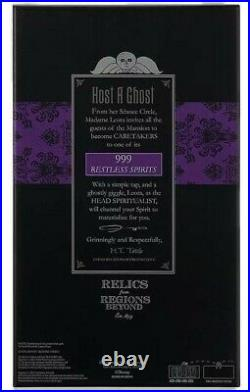Disney Parks Haunted Mansion 50th Hatbox Host a Ghost Light Up Spirit Jar