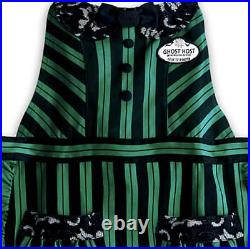 Disney Parks Haunted Mansion Apron Maid Ghost Hostess Halloween Costume One Size
