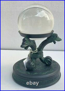 Disney Parks Haunted Mansion Crystal Ball Figurine Retired Rare
