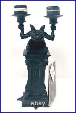 Disney Parks Haunted Mansion Gargoyle Candelabra Candlestick Candle Holder NEW