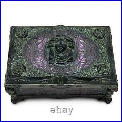 Disney Parks Haunted Mansion Madame Leota Musical Jewelry Box Ghosts