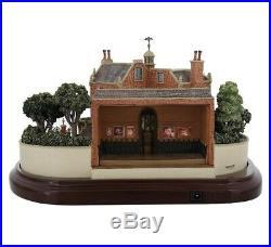 Disney Parks Haunted Mansion Miniature with 3 Scenes Figurine by Olszewski New