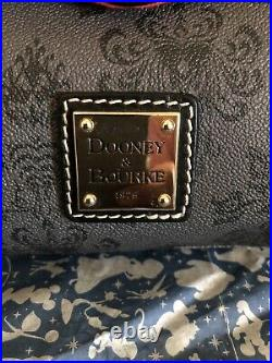 Disney Parks Haunted Mansion Red lining Dooney & Bourke Smith Satchel Handbag