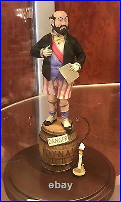 Disney Parks Haunted Mansion Stretching Portrait Man Barrel Dynamite Figurine