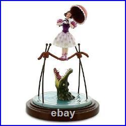 Disney Parks Haunted Mansion Tightrope Walker / Ballerina and Alligator Figurine