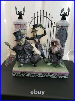 Disney Parks Haunted Mansion's Hitchhiking Ghosts by Jim Shore