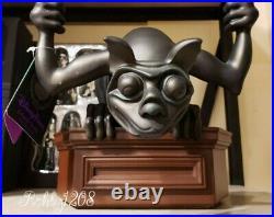 Disney Parks Home Haunted Mansion Gargoyle Candelabra Candle Light Figurine BNIB