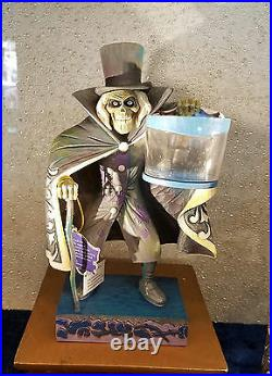 Disney Parks Jim Shore Showcase Haunted Mansion Hatbox Ghost Figure New with Box