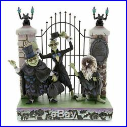 Disney Parks Jim Shore The Haunted Mansion Hitchhiking Ghosts Figurine New Box