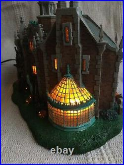 Disney Parks Light Up The Haunted Mansion Village HTF Retired Halloween WORKS