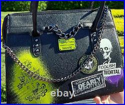 Disney Parks Loungefly 2021 The Haunted Mansion Hitchhiking Ghosts Purse Bag NWT