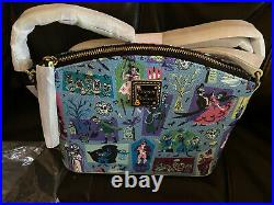 Disney Parks The Haunted Mansion Crossbody Bag Dooney & Bourke New IN HAND