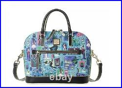 Disney Parks The Haunted Mansion Satchel Bag Dooney & Bourke New IN STOCK