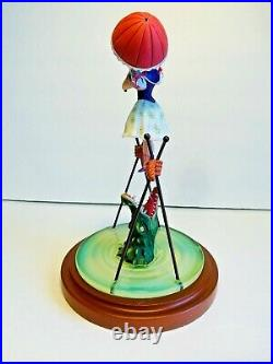 Disney Parks The Haunted Mansion Tightrope Girl Figure Ballerina and Alligator