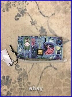 Disney Parks The Haunted Mansion Wristlet Wallet Dooney & Bourke New With Tags