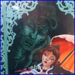 Disney Parks WonderGround Haunted Mansion Tightrope Balcony Dancer Print McCarty