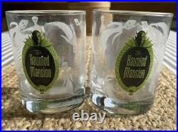 Disney Shag Haunted Mansion Decanter And Glass Set Of Three -VERY RARE