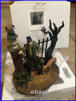 Disney The Haunted Mansion Caretaker Figure Costa Alavezos Statue Figurine RARE