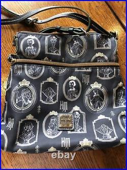 Disney The Haunted Mansion Portraits Nylon Crossbody Bag by Dooney & Bourke