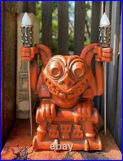 Disney Trader Sam's Gargoyle Tiki Mug First Edition Haunted Mansion IN HAND