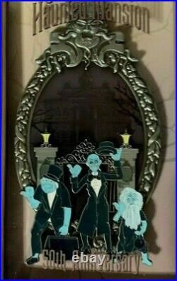 Disney WDI D23 Expo 2019 50th Anniversary Haunted Mansion LE 250 Jumbo Pin