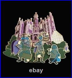 Disney WDW Haunted Mansion Hitchhiking Ghosts Jumbo Pin Phineas Ezra & Gus 43286