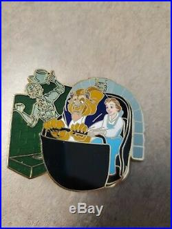 Disney Wdi Haunted Mansion Mystery Doombuggy Beauty and The Beast LE 300 PIN