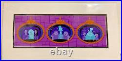 Disney WonderGround Haunted Mansion A Ghost Will Follow You Home Print by Shag