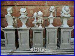 Disney World Disneyland Haunted Mansion Figure Set Headstone Brand New in Box