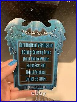 Disney World Haunted Mansion Frame with Lights LE