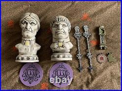 Disney club 33 haunted mansion 50th Anniversary tiki Mugs & Pins Package