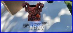 Disneyland 1st Edition Trader Sams Haunted Mansion Gargoyle Tiki Mug Disney 2021