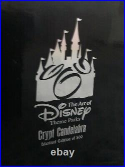 Disneyland Haunted Mansion 40th Anniversary Crypt Candleabra LE Of 500
